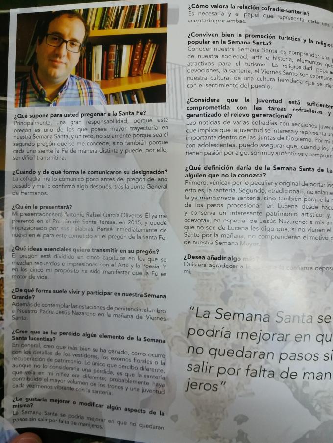 Entrevista La Voz