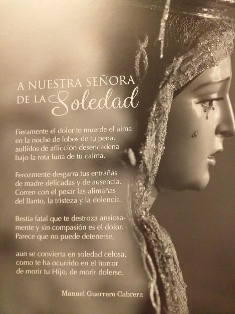 Poema Soledad