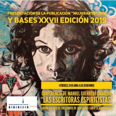 Publicacion premios mujerarte 2018